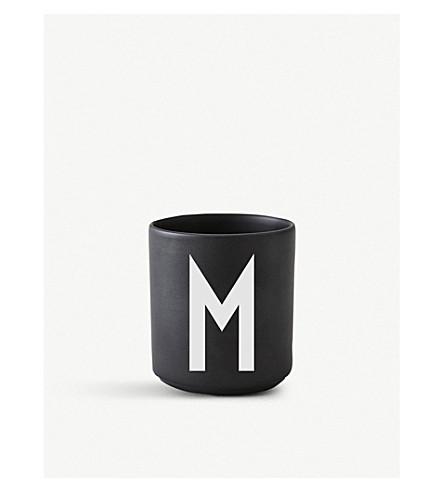 DESIGN LETTERS M Personal porcelain cup 7.5cm