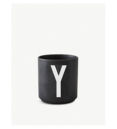 DESIGN LETTERS Y Personal porcelain cup 7.5cm