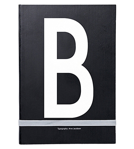 DESIGN LETTERS B personal notebook