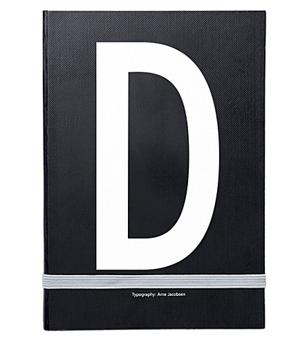 DESIGN LETTERS D personal notebook