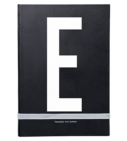 DESIGN LETTERS E personal notebook