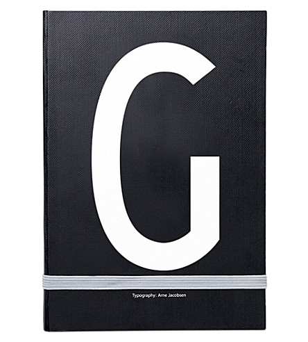 DESIGN LETTERS G personal notebook
