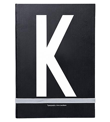 DESIGN LETTERS K 个人笔记本