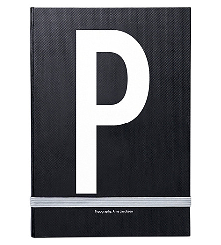 DESIGN LETTERS P personal notebook