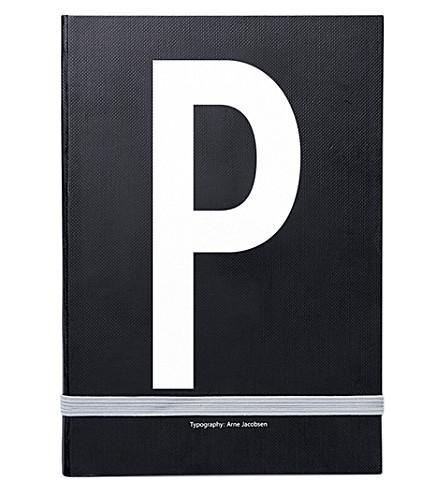 DESIGN LETTERS P 个人笔记本