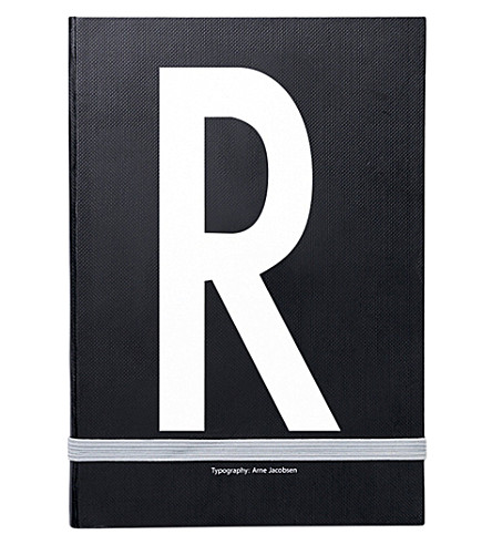 DESIGN LETTERS R personal notebook