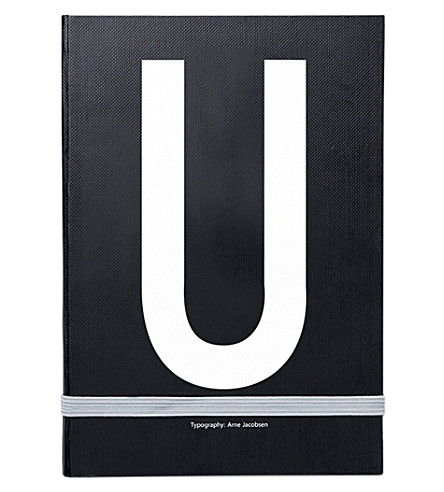 DESIGN LETTERS U personal notebook
