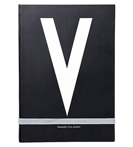 DESIGN LETTERS V personal notebook