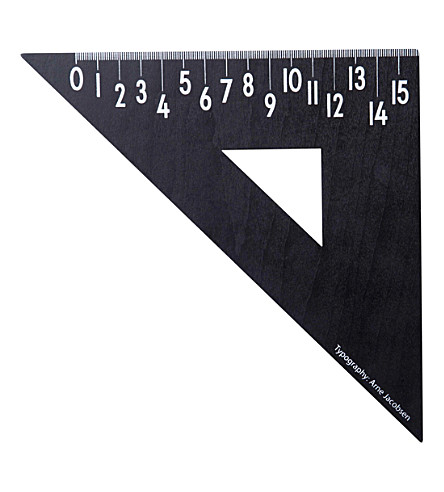 DESIGN LETTERS Triangular wooden ruler