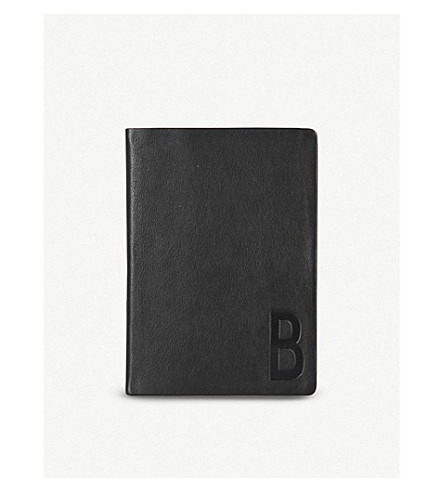 DESIGN LETTERS Suit Up leather A5 personal notebook B