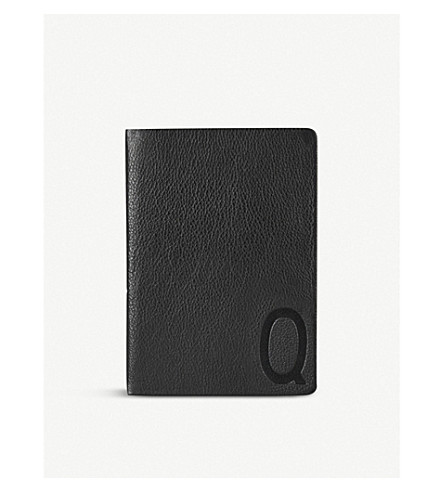 DESIGN LETTERS Suit Up leather A5 personal notebook Q