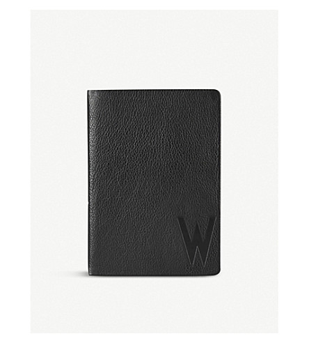 DESIGN LETTERS Suit Up leather A5 personal notebook W