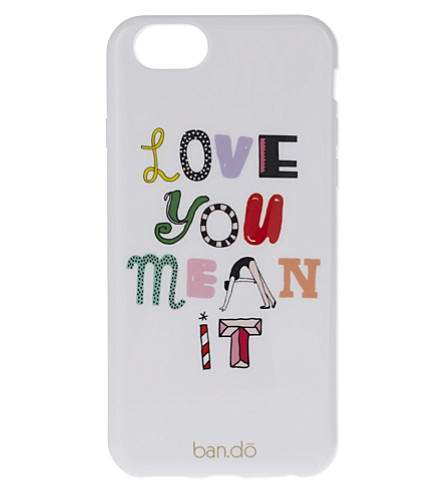 BANDO Love you mean it iPhone 6 case