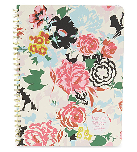 BANDO Rough Draft Florabunda notebook