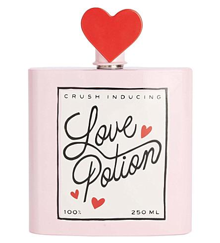 BANDO Love Potion metal hip flask