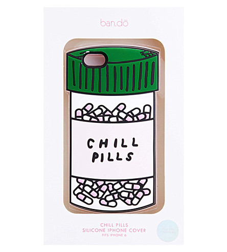 BANDO Chill Pills iphone 6 case