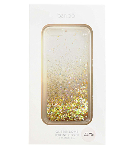 BANDO Glitter bomb iphone 6 case