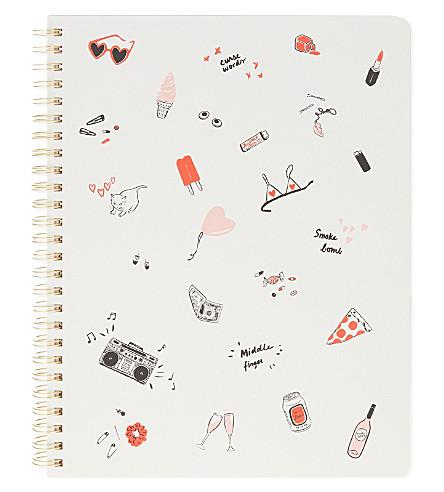 BANDO Rough draft notebook 23cm