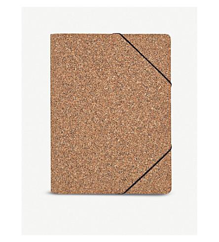 NOMESS Cork Folder A4