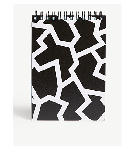 THE WRAP PAPER Geometric notebook 16x10cm