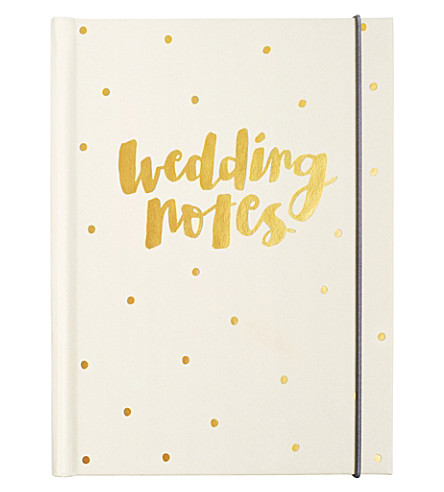 KIKKI.K Wedding notes notepad