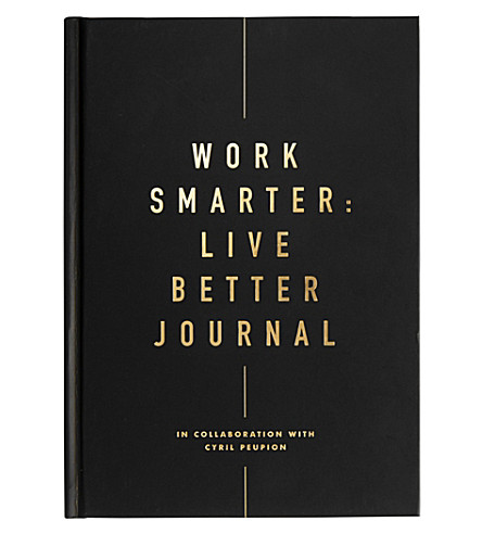KIKKI.K Life Essentials Work Smarter Live Better journal