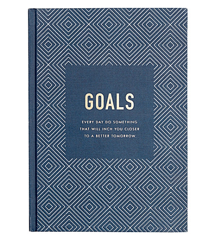 KIKKI.K Goals Journal Inspiration hardback notebook