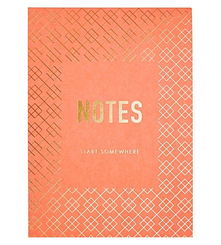 KIKKI.K Inspiration B6 printed notepad