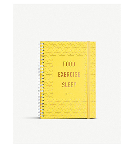 KIKKI.K Food exercise sleep journl inspomulti