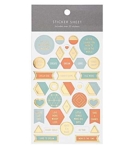 KIKKI.K Inspiration sticker sheet