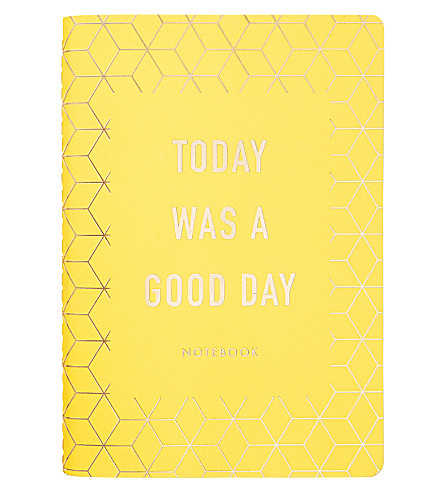 KIKKI.K Today Was A Good Day notebook