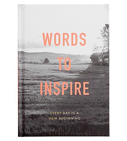 KIKKI.K Words to inspire book