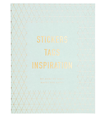 KIKKI.K Inspiration DIY sticker book