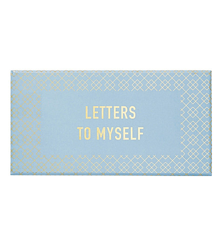 KIKKI.K Inspiration letters to myself box