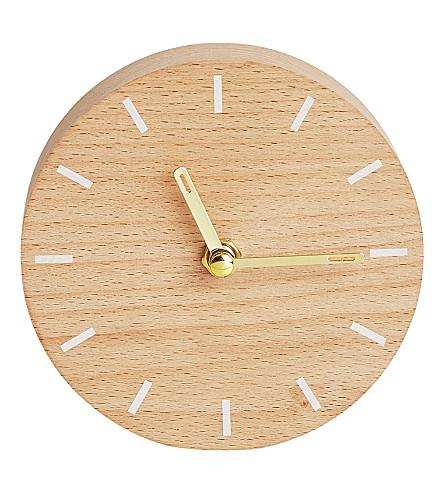 KIKKI.K Inspiration wooden clock