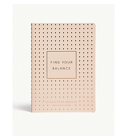 KIKKI.K Find Your Balance A5 journal