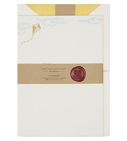 METICULOUS INK 风筝信纸集 20