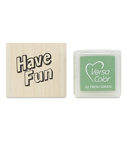 MARBY & ELM Have fun stamp and pad set
