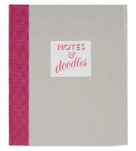 MARBY & ELM Notes & doodles notebook