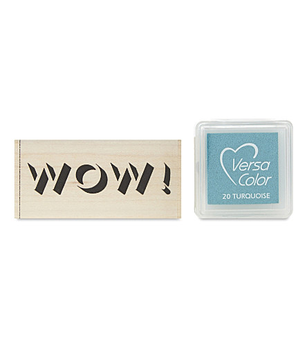 MARBY & ELM Wow! stamp and pad set