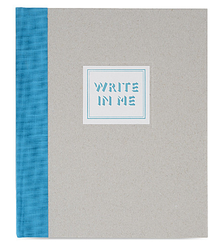 MARBY & ELM Me write in me notebook