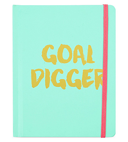 SWEET AND SOUR Goal Digger A6 notebook