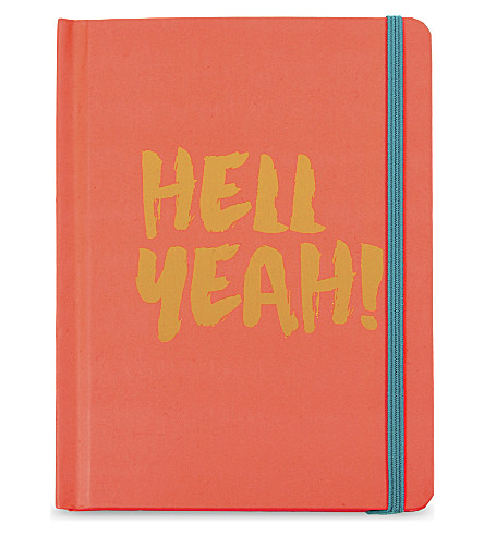 SWEET AND SOUR Hell Yeah! A6 notebook