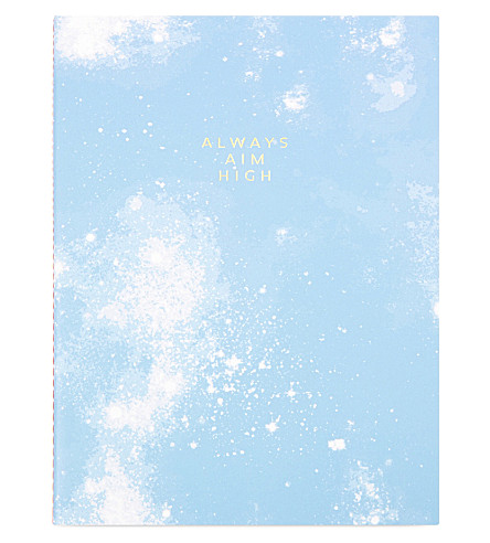 SWEET AND SOUR Always aim high notebook
