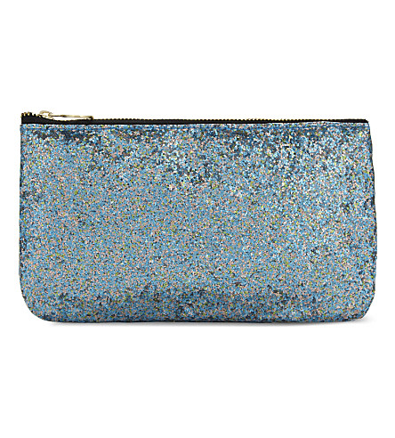 SWEET AND SOUR Rectangle glitter make-up bag