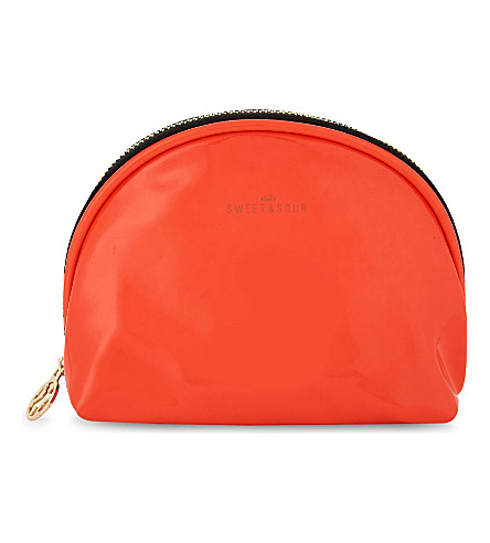 SWEET AND SOUR Semicircle neon make-up bag