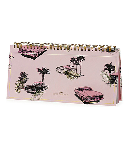 SWEET AND SOUR Cadillac desk planner