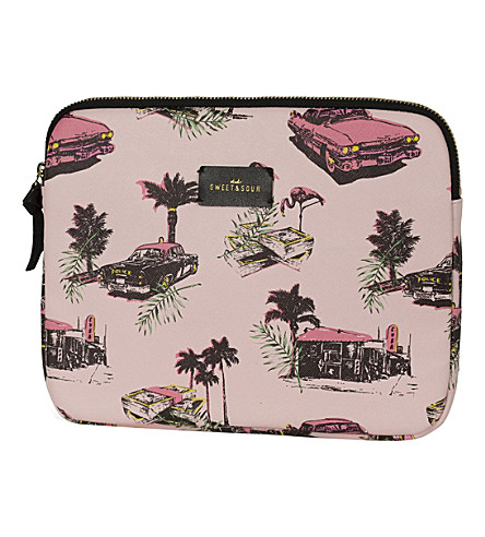 SWEET AND SOUR Cadillac tablet sleeve 9.7
