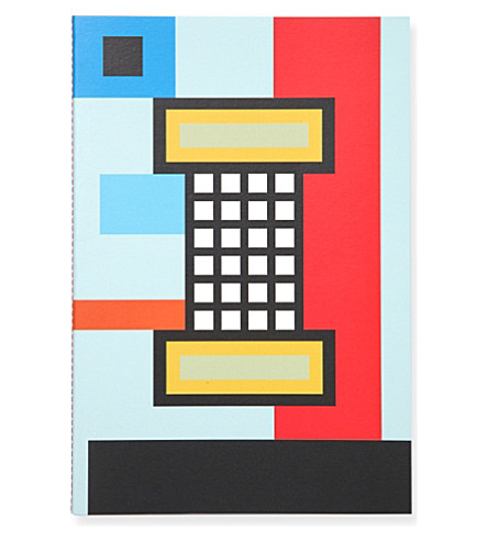 RUBBER BAND Rubberband x Nathalie Du Pasquier notebook A6 14cm