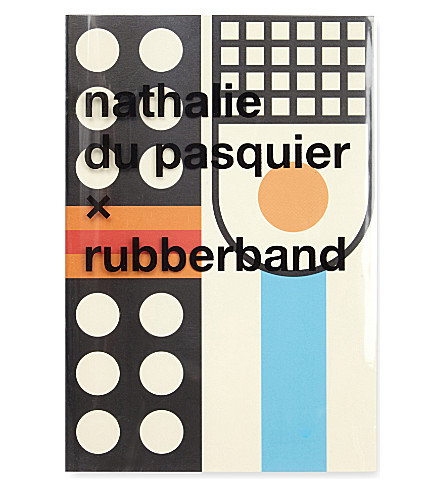 RUBBER BAND Nathalie Du Pasquier Notebook A5